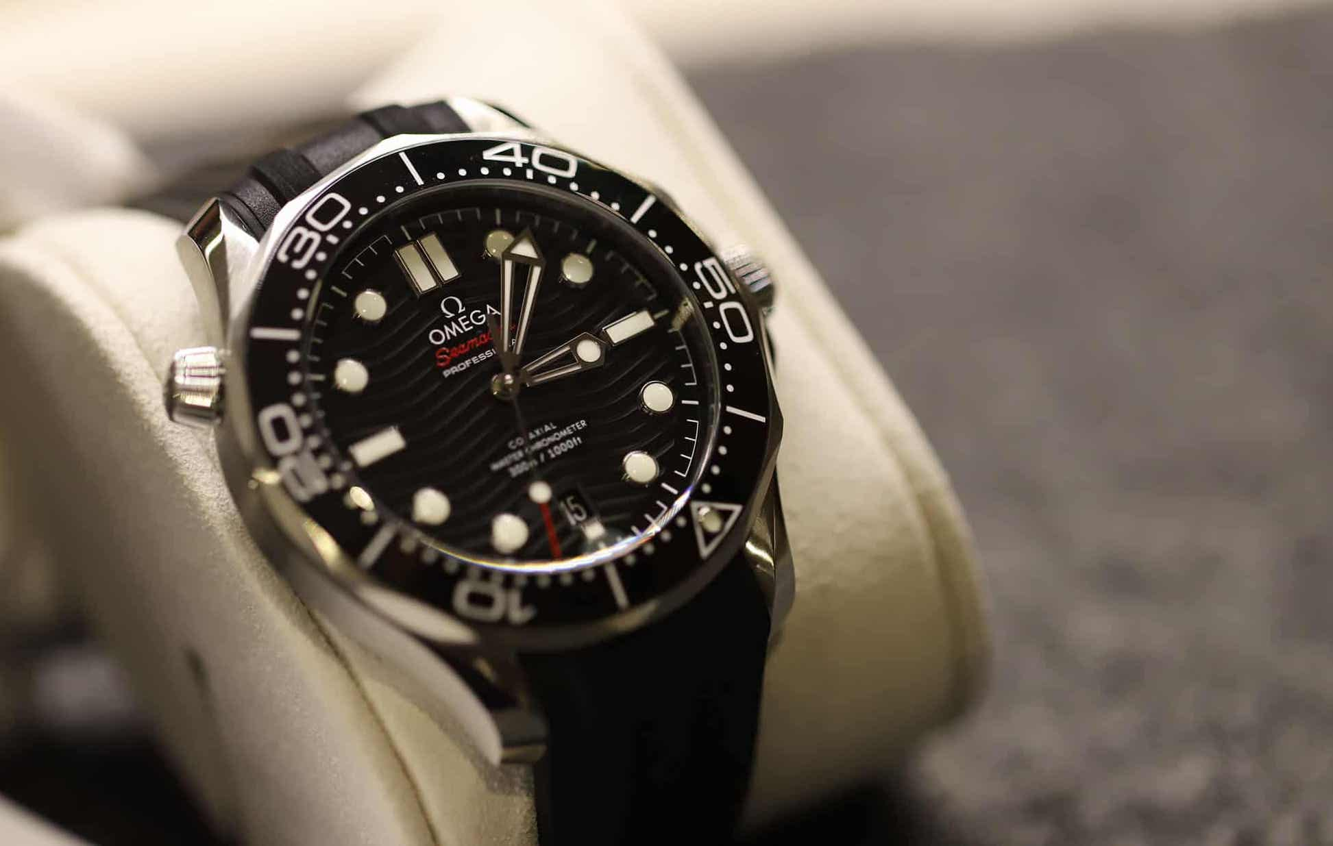 d50929db8ce FIRST LOOK  THE 2018 OMEGA SEAMASTER 300M CO-AXIAL MASTER CHRONOMETER  COLLECTION